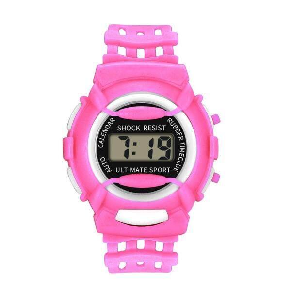 Joomia Children Girls Analog Digital Sport LED Electronic Waterproof Wrist Watch New Malaysia