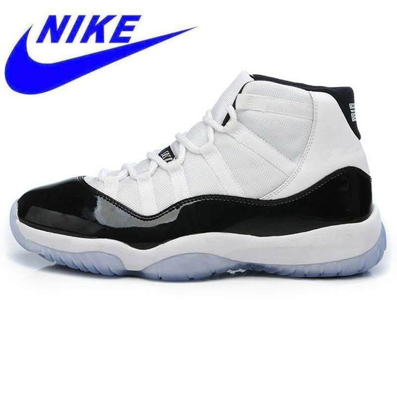Nike Air Jordan 11 Concord GS Aj11 Wanita Sepatu Basket d94bf94504