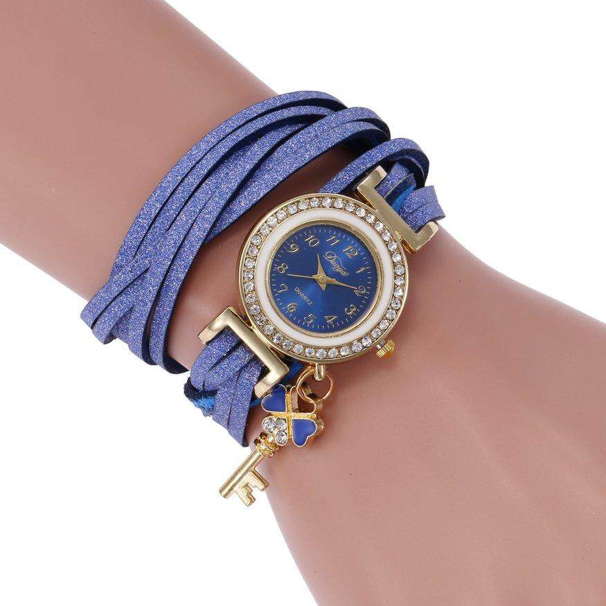 e6969895f Top Deals SC062 Fashion Bracelet Knitted Korean Velvet Small Key  Accessories Watch Perfect Gift For Women