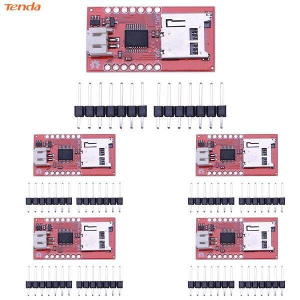 Bảng giá 5 Mô-đun Âm Thanh Thẻ Micro SD WTV020SD Thiết Bị Chơi Game Mô-đun Âm Thanh Phong Vũ