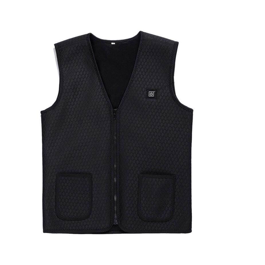 [โปรโมชั่น] Usb เสื้อกั๊กไฟฟ้าทำความร้อน Usb ความปลอดภัยอัจฉริยะ Thermostat เสื้อกั๊ก By Kakagardener