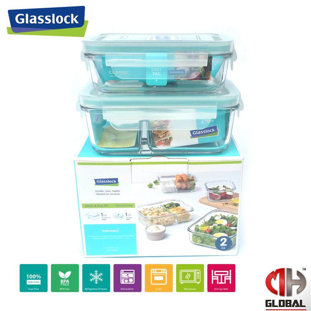 Clear Gl Kitchen Canister Sets | Glasslock Buy Glasslock At Best Price In Malaysia Www Lazada Com My