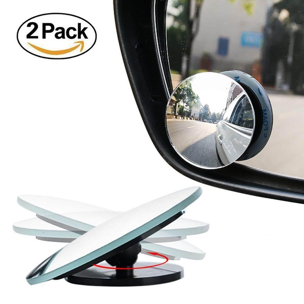 Outflety Tampilan Belakang Mobil Blind Spot Cermin Tongkar Bundar-Di Cermin Cembung Lebar Tampilan Sudut Cermin Untuk Mengemudi Lebih Aman-2 Pack By Outflety.