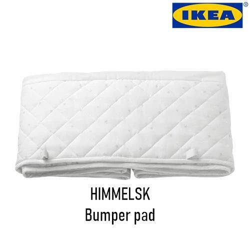 Ikea Himmelsk Bumper Pad, White, Grey By Lagalerieresources.