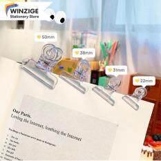 Winzige Ins Binder Clip, Kẹp Hóa Đơn Trong Suốt Văn Phòng Phẩm Văn Phòng Nguồn Cung Cấp