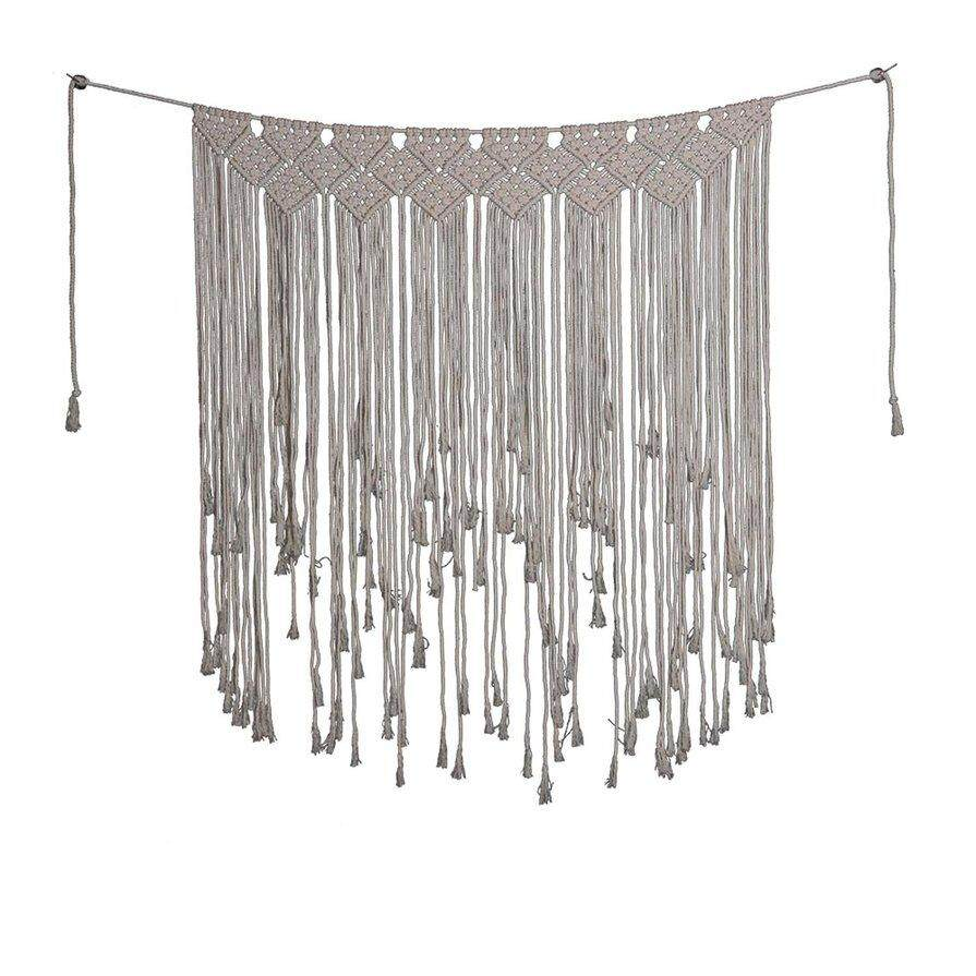 Best Seller Woven Tassel Wall Hanging Tapestry Bohemian Style Home Wall Decor Art Ornament