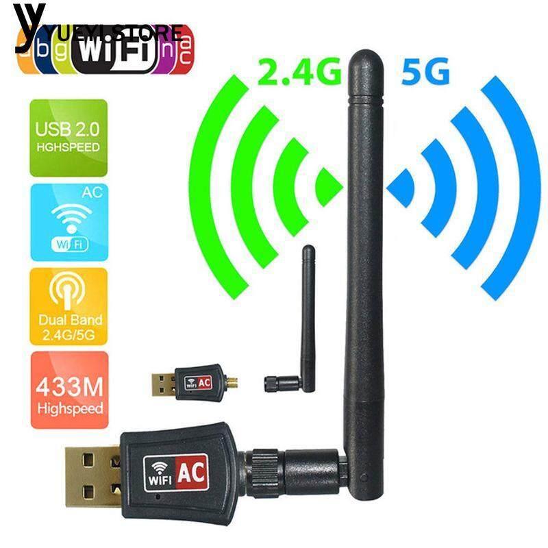 Bền Sóng Wifi USB Wifi Dongle Card Mạng Thu Wifi 802.11b//N/G/AC