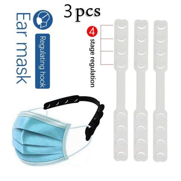 3pcs Adjustable Mask Hook Non-slip Mask Extension Penyangkut Topeng Muka