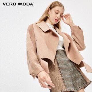 Vero Moda Áo Khoác Len Nữ Dáng Rộng Hở Vai Ve Áo 320127509 thumbnail