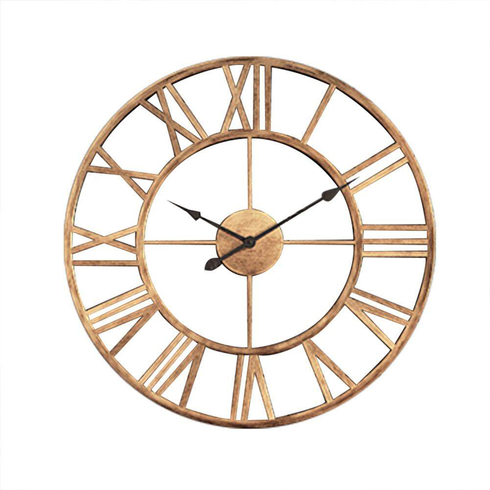 Modern minimalist wall clock Nordic living room geometric creative clocks American fashion home bedroom silent clock