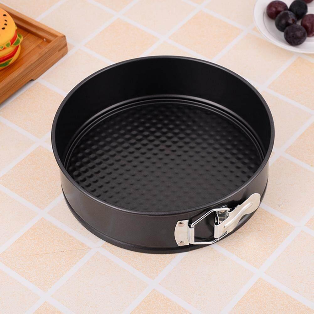 4//7//9//10inch Round Cake Tin Non-stick Spring Form Loose Base Baking Pan Tray