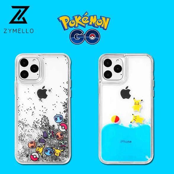 ZYMELLO For iPhone 11 PRO MAX 11 PRO 11 Bikachu Dynamic Cute Cartoon Phone  Case For iPhone 11 Pro MAX Case