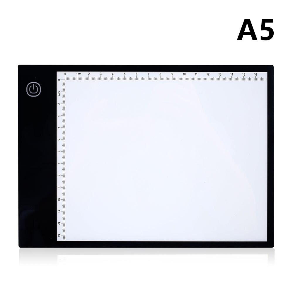 Bảng Sao Chép Acrylic Siêu Mỏng A5 Cỡ 5V Làm Mờ Ba Cấp Bảng Truy Tìm, Vẽ Kim Cương Tự Làm 5D