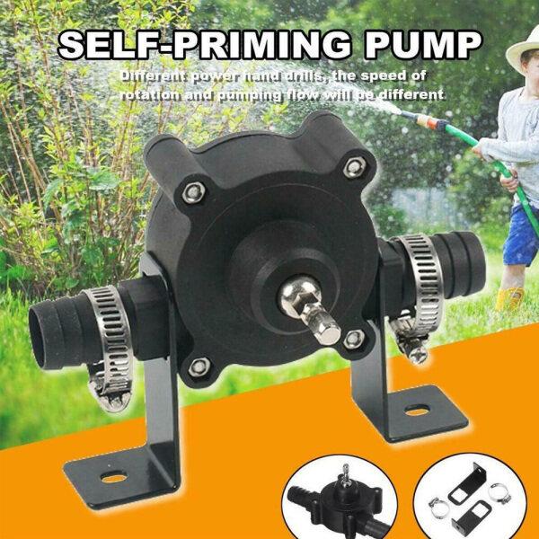 Heavy Duty Miniature Garden Liquid Oil Outdoor Transfer Pump Electric Drill Pump Water Pump Self Priming