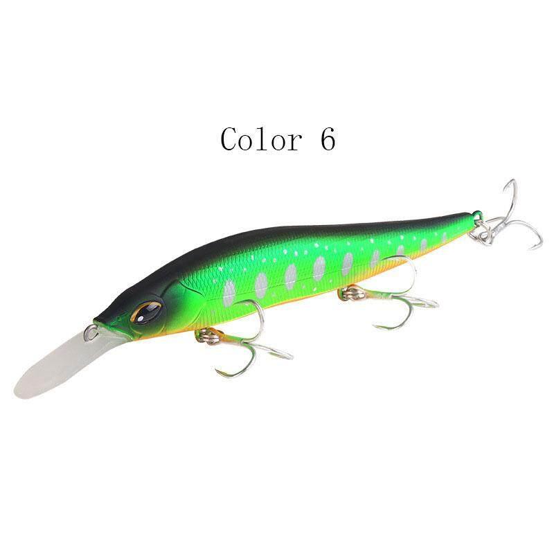 2pcs 9cm 7.5g eye Minnow Fishing Lure Bass Crankbait Fishing Bait Tackle DW5