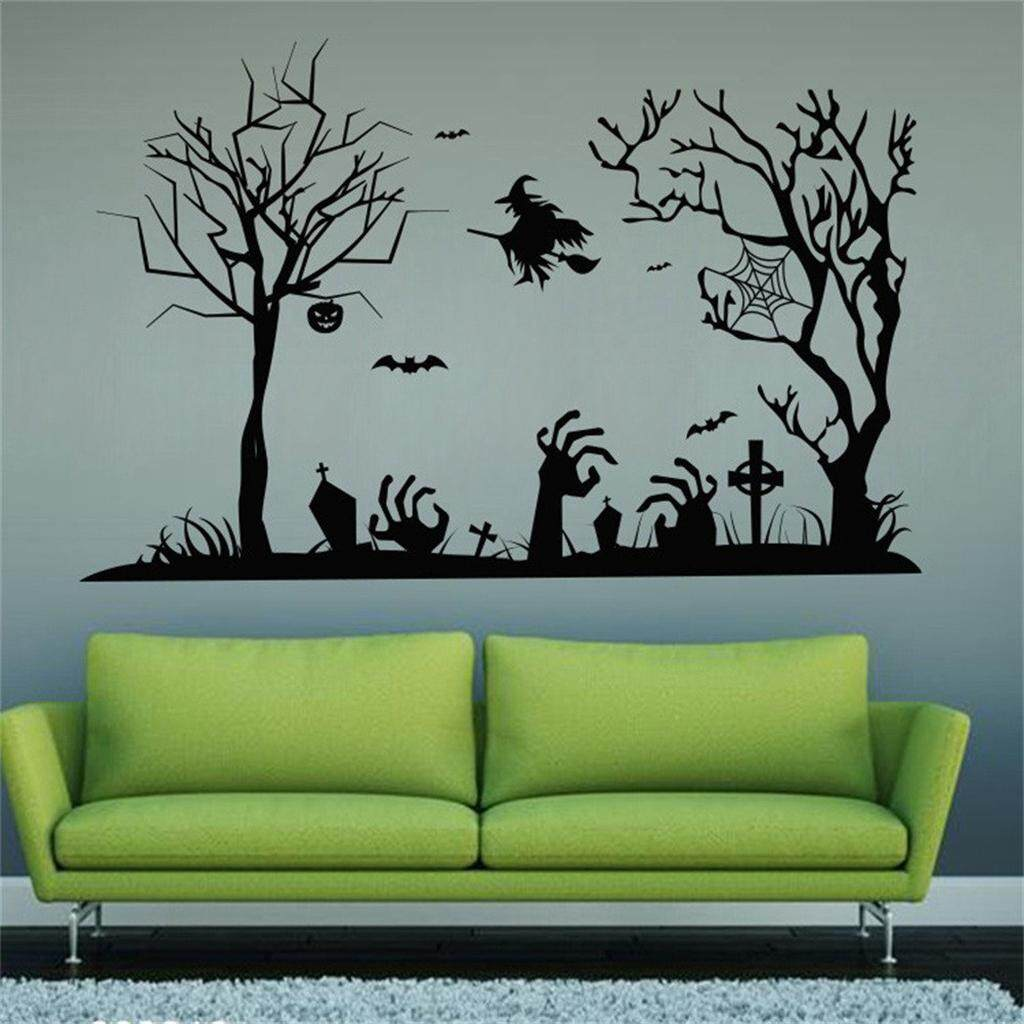 BolehDeals PVC Waterproof Halloween Wall Sticker Halloween Wall Door Decoration