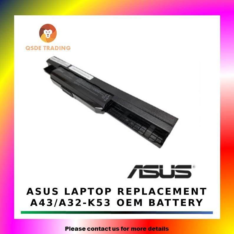 Asus A32-K53 A53 X43B A84S A43S X53 X54 X84 Laptop Battery Malaysia