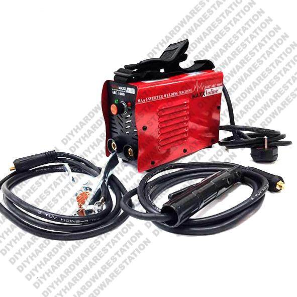 HARDWARESTATION - VolineMaxx - Portable Mini Heavy Duty ARC-160 MMA IGBT Welding Machine Weld Up To 3.2mm Rod – King Of Mini Welding