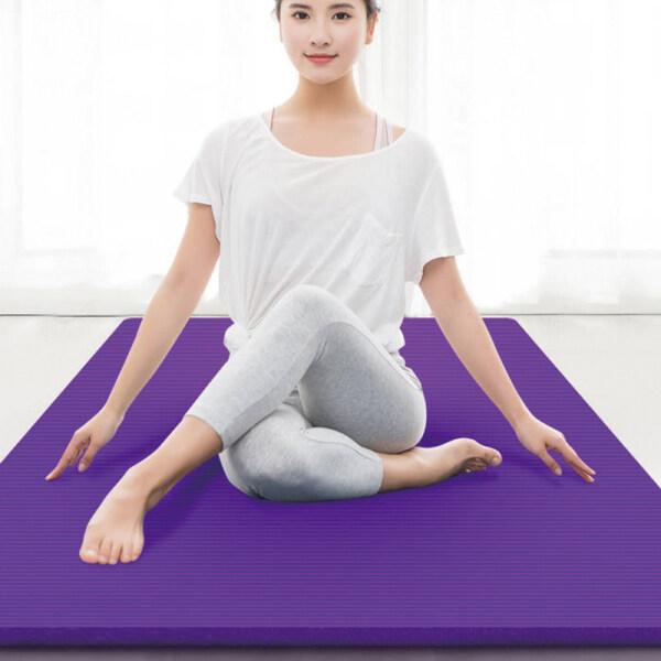 TF Th?m t?p yoga t?p th? d?c b?ng cao su t? nhiᄄᄎn dᄄᄂy ch?ng rᄄᄁch ch?ng tr??t b?n kᄄᆰch th??c185x90cm - INTL