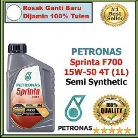 Petronas Sprinta F700 Semi Synthetic Motor Oil 15w-50 (1l) By Motorcycle Spare Part Service.