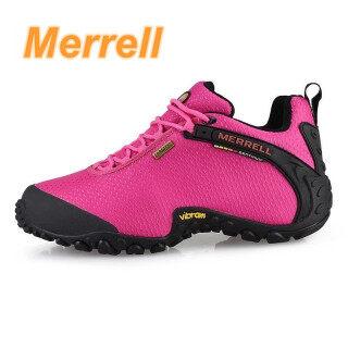 Giày Đi Bộ Merrell 2020, Giày Nữ Đế Lưới Thể Thao Dưới Nước Thoáng Khí Ngoài Trời Giày Leo Núi Màu Hồng, 36-40 4 Màu thumbnail