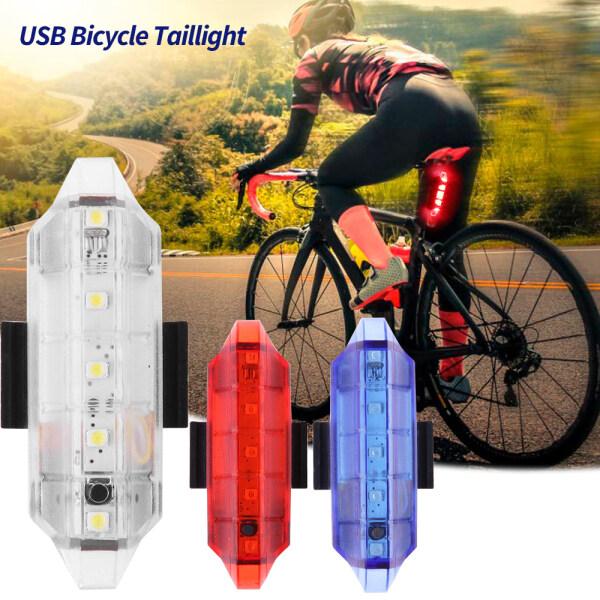 Xe Đạp Đèn Hậu Đèn LED Phía Sau Xe Đạp Sạc USB, Đèn Cảnh Báo An Toàn Di Động Khi Đạp Xe, Xe Đạp Phụ Kiện