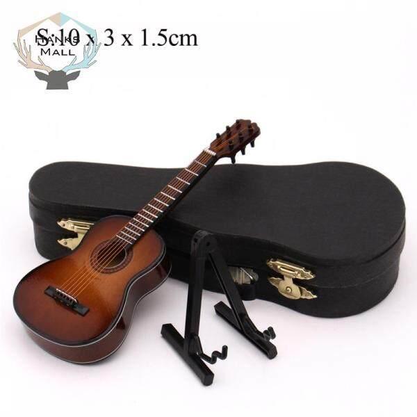 HK Mini Guitar Mô Hình Thu Nhỏ Bằng Gỗ Mô Hình Nhạc Cụ Nhỏ Bằng Gỗ