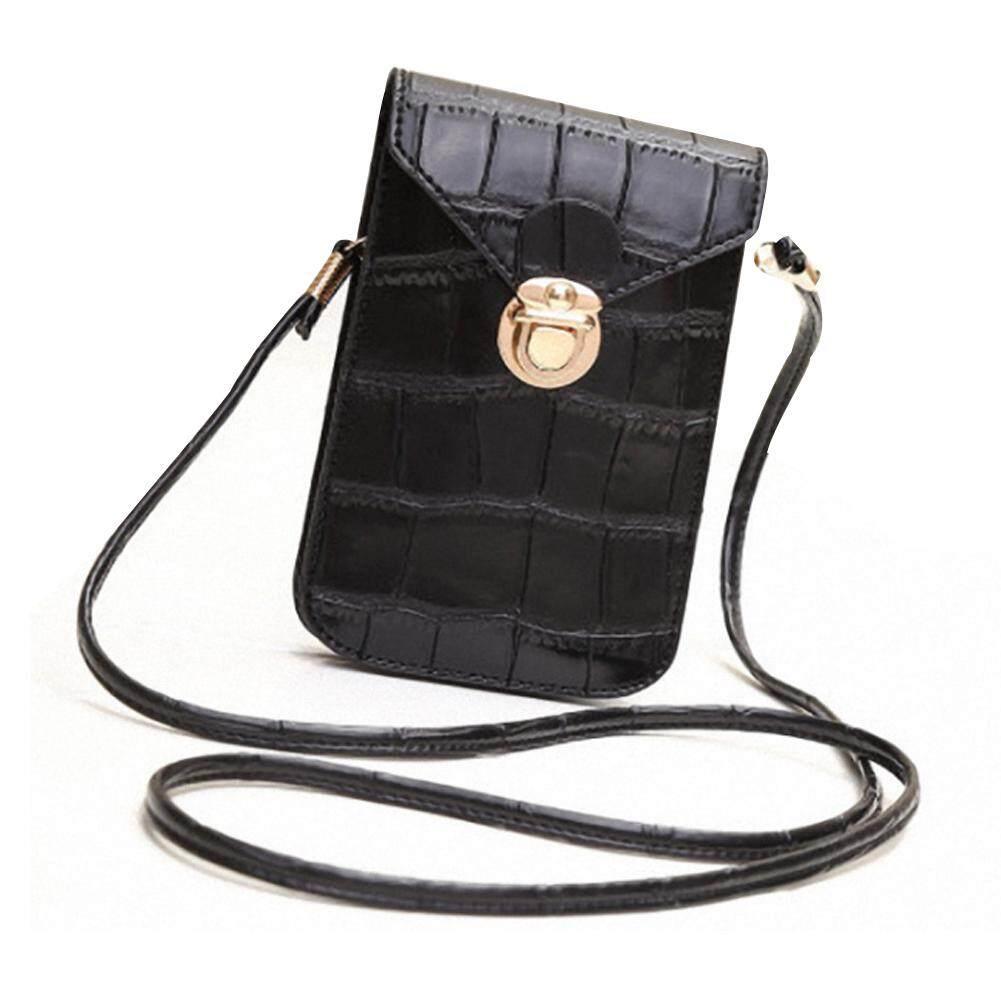 Ng รูปแบบจระเข้โทรศัพท์มือถือกระเป๋า Retro กระเป๋าธนบัตรแฟชั่นสุภาพสตรี Mini Crossbody กระเป๋าสะพายไหล่สำหรับผู้หญิง By Hldb Store.