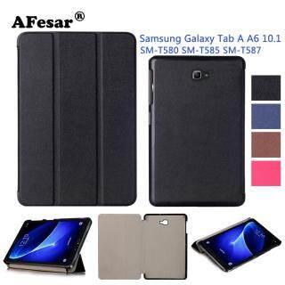 Ốp lưng thông minh nắp gập đế nam châm dành cho máy tính bảng Samsung Galaxy Tab A6 2016 10.1 inch (SM-T580 SM-T585 SM-T587) Afesar - INTL thumbnail