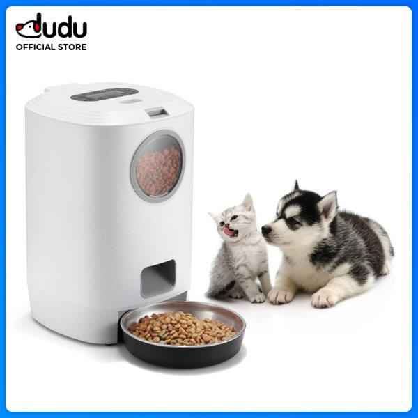 【DUDU Pet】bát Ăn Thông Minh Cho Thú Cưng Thiết Bị Cho Chó Mèo Ăn Thú Cưng Máy Cho Ăn Định Lượng Và Định Lượng Thông Minh 4.5L