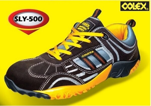 COLEX SLY500 SPORTY SAFETY SHOES WORKING SHOES KASUT INDUSTRIAL