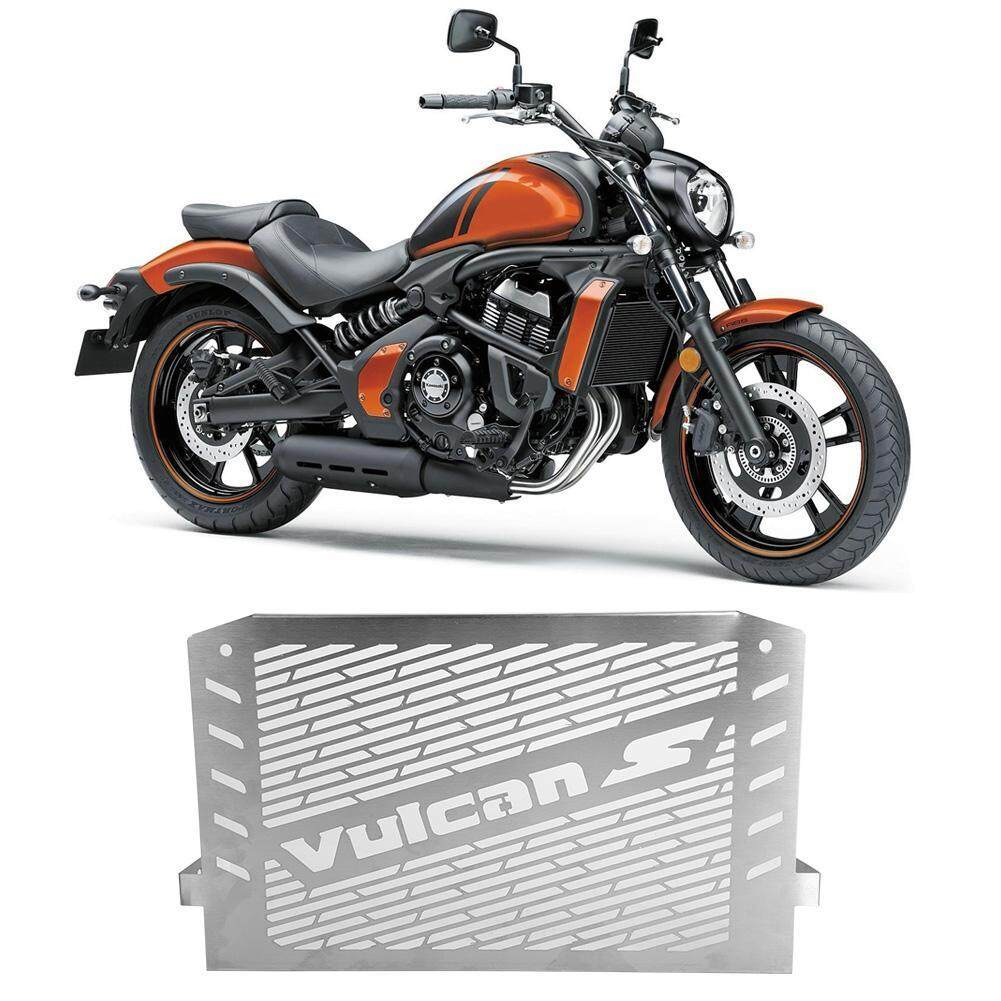 Motorcycle Radiator Guard Protector Grille Cover For Kawasaki Vulcan 650 S Series By Car-Mall.