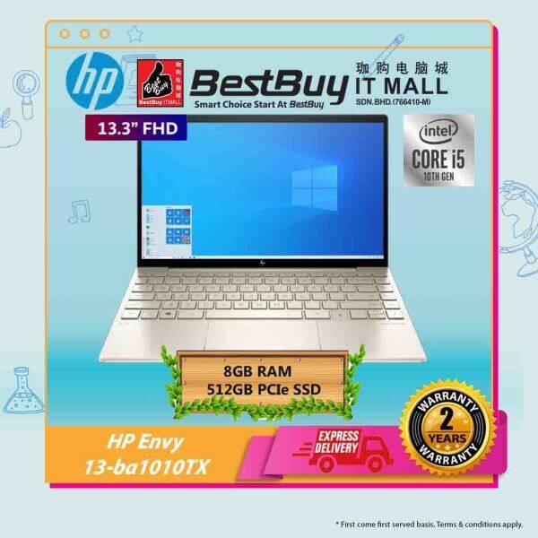 HP ENVY 13-ba1010TX (I5-1135G7/8GB/512GB/MX450 2GB/13.3FHD/W10H) Malaysia