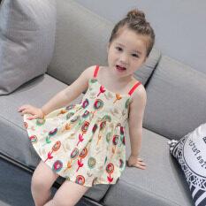 Váy Công Chúa I Love Daddy & Mummy Cho Bé Gái, Váy Công Chúa Không Tay Có Thể Điều Chỉnh Màu Sắc Phối Đồ 1-5 Tuổi