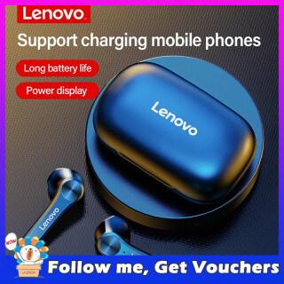 Tai Nghe Không Dây Lenovo QT81 TWS, Stereo Thể Thao Không Thấm Nước Earbuds Tai Nghe Có Micro, Tai Nghe Bluetooth Cuộc Gọi HD 1200MAh thumbnail