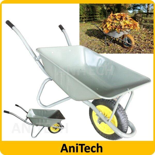 ANITECH #103 Tayar Angin ( Pneumatic ) Wheelbarrow Cart Strong Wheel Barrow (DEEP Type) / Kereta Sorong Tolak