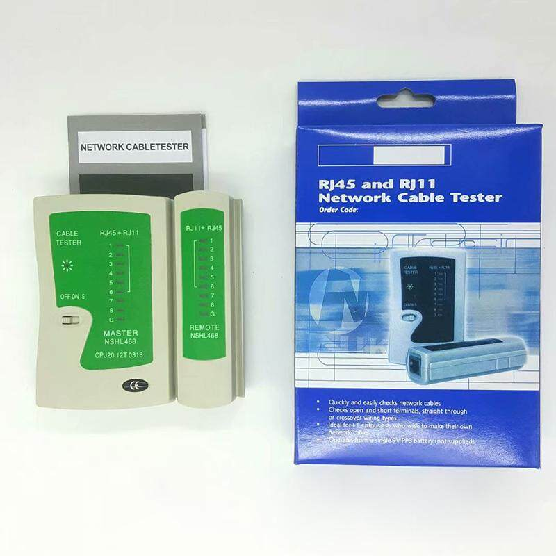 Network Cable Tester Rj45 Rj11 Cat5 Cat6 By Yc Office Supplies.