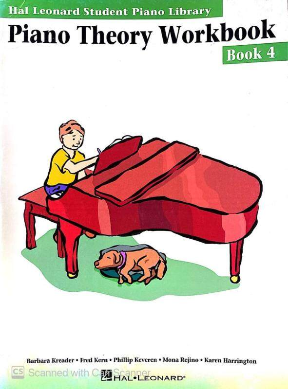 Hal Leonard Piano Theory Workbook Book 4 Malaysia