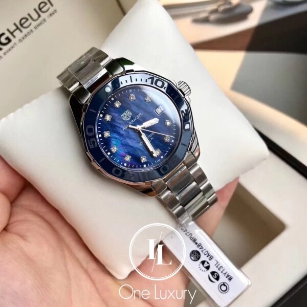 [ONE LUXURY] ORIGINAL T@G HEUER AQUARACER LADIES WATCH 35MM WAY131L.BA0748 Malaysia
