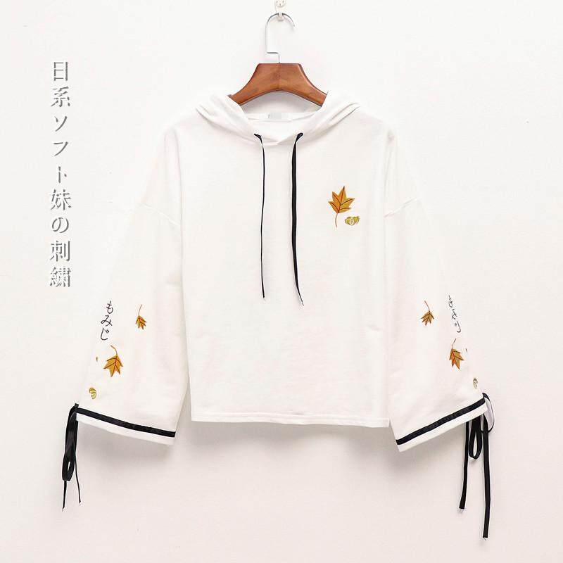 ed830e50872d4 [URBANE] Japan 2019 spring and autumn new Japanese cute girl oversize  student college womens