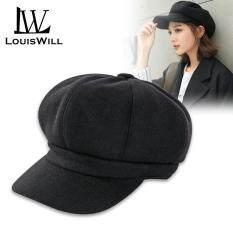 LouisWill Nón Nồi Mũ Nồi Mũ Beret Nón thời trang nam nữ