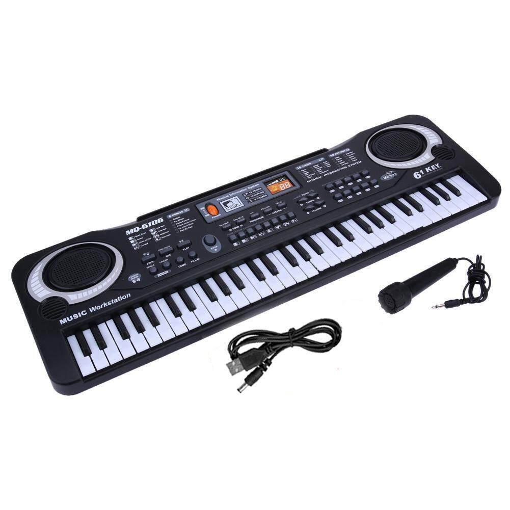 Ltplaza Piano Keyboard For Kids, Childrens Piano, 61 Keys, Usb Multi-Function Portable Electronic Organ, Music, Piano, Keyboard, Instrumental Music Teaching, Keyboard Toys, Childrens Microphone Gifts By Ltplaza.