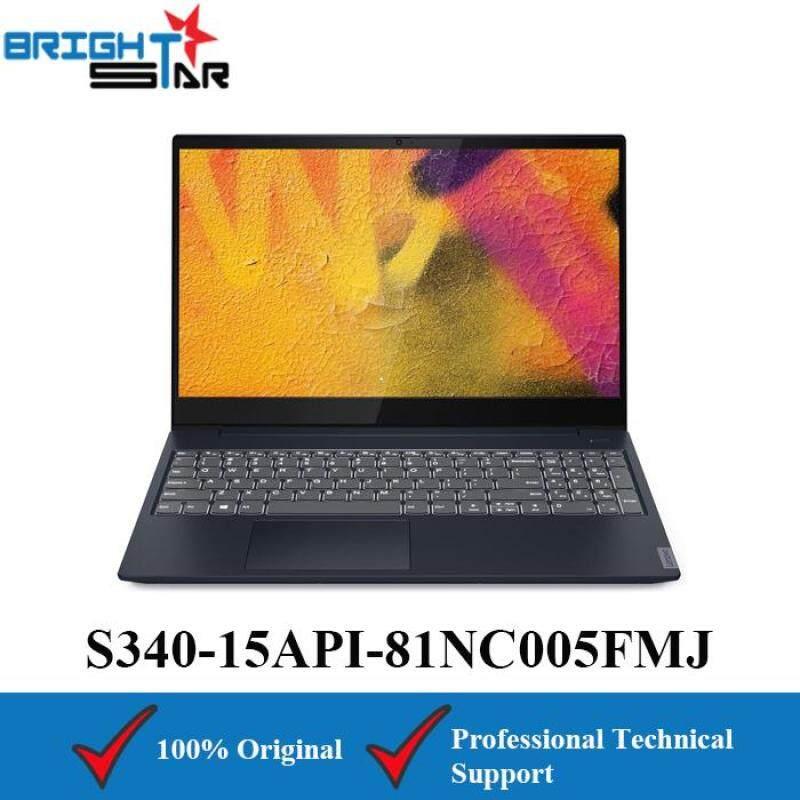 Lenovo Ideapad S340-15API 81NC005FMJ Blue (AMD Ryzen 5-3500U/4GB/1TB HDD+128GB SSD/AMD Vega 8/15.6Inch) Malaysia
