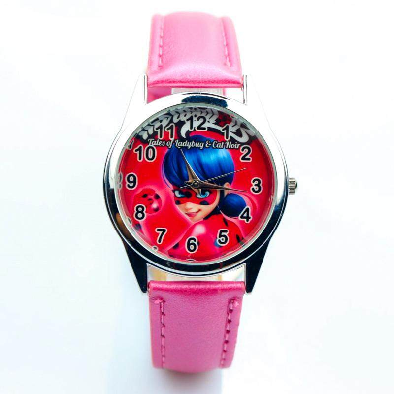 New arrive Miraculous Ladybug Watches Children Kids gift Watch Casual Quartz Wristwatch fashion leather watch Relogio Relojes[Model:NSZNHZDB00073] Malaysia