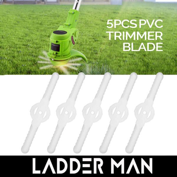 5Pcs Lawn Mower Plastic Blades Grass Trimmer Weeder PVC Blades Replacement Mower Accessories RANDOM COLOUR