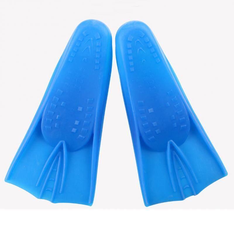 ครีบซิลิโคนสำหรับว่ายน้ำฟลิปเปอร์สั้น Anti - SLIP
