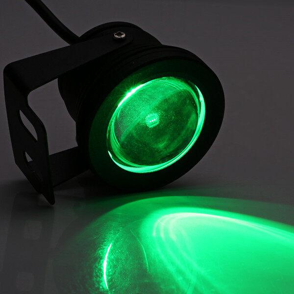 Du Thuyền Biển Đèn LED Chiếu Dưới Nước RGB 10W 12V, Đèn Hồ Cá Không Thấm Nước, Vỏ Màu Đen