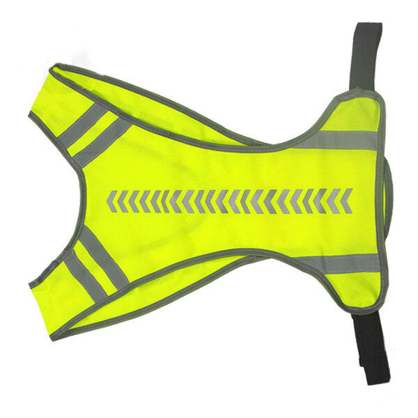 Unisex Warning Night Running Cycling Safety High Visibility Reflective Vest Jacket