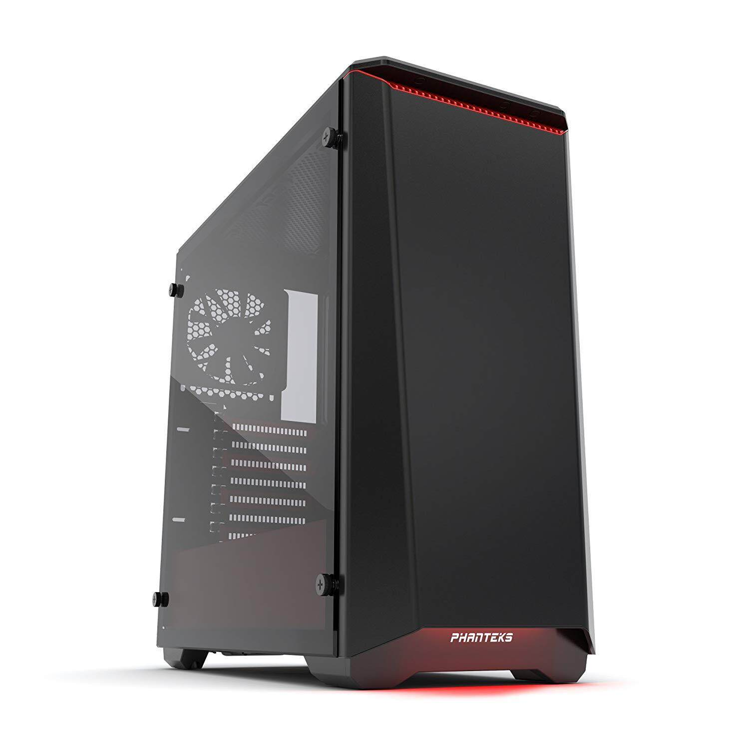 PHANTEKS ECLIPSE P400S RGB TEMPERED GLASS BLACK/RED CHASSIS Malaysia