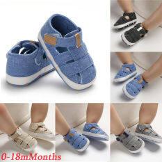 Giày đế mềm dành cho bé sơ sinh mới tập đi dành cho bé từ 0-18 tháng tuổi – INTL